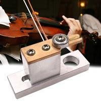 Threading Fixture Violin Edge Repair Tool Stand Equipment Making Hooker Wire Bracket Metal Musical Instrument DIY Electric Clamp