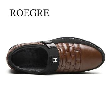 2019 New Big Size 38-48 Oxfords Leather Men Shoes Fashion Casual Slip On Formal Business Wedding Dress Shoes Drop Shipping 4