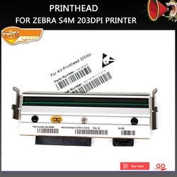 Nowa kompatybilna głowica drukująca G41400M do drukarki Zebra S4M 203dpi termiczna drukarka etykiet kodów kreskowych  drukowanie tylko na papierze powlekanym zebra s4m printhead zebra printheadprinthead zebra -