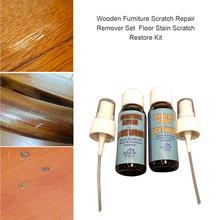 Деревянная мебель набор для удаления царапин для удаления пятен пола набор для восстановления двух бутылок жидкости 40 мл