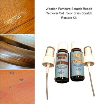 Wooden Furniture Scratch Repair Remover Set Floor Stain Scratch Restore Kit Two Bottles Of Liquid 40ml