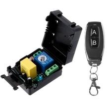 ALITER AC220V 10A 1CH RF 315MHz kablosuz uzaktan kumanda anahtarı alıcı verici kiti