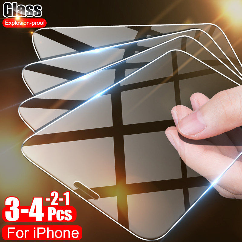 Full cover Protective Glass For iPhone 7 8 6 6s Plus Glass on the For iPhone 11 Pro X XS Max XR Tempered Glass Screen Protector