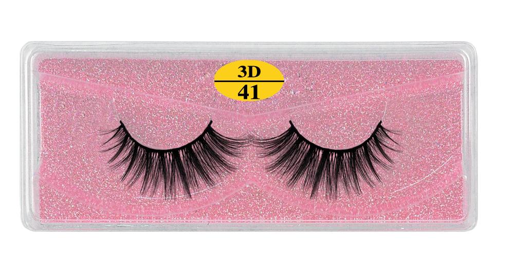 H9c41284cdd2e46f580f28bf491b34a49n - MB Eyelashes Wholesale 40/50/100/200pcs 6D Mink Lashes Natural False Eyelashes Long Set faux cils Bulk Makeup wholesale lashes