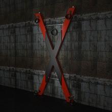 SM سانت أندرو الصليب الجنس الأثاث موقف الدعامة المثيرة لعبة كرسي التعذيب المحصنة دور اللعب BDSM الجنس لعبة X شكل الصليب