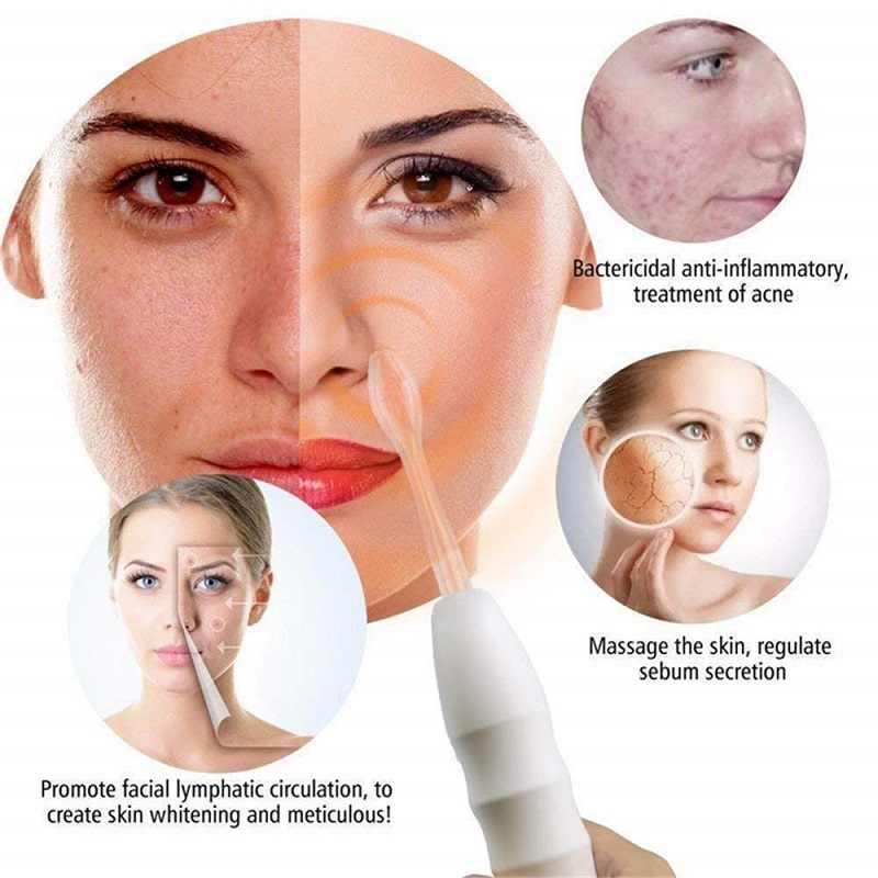 Portable Electrode High Frequency Facial Machine Spot Acne Remover Facial Skin Care Face Spa High Frequency Facial Massager Aliexpress