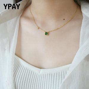 YPAY Charm Chain Necklace Emer