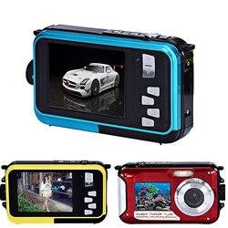 48MP Underwater Waterproof Digital Camera Dual Screen Video Camcorder Point and Shoots Digital Camera SP99
