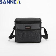 Sanne 4l детская изолированная сумка для ланча водонепроницаемая