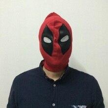 New Marvel Superhero 2019 Lycra Spandex Deadpool Cosplay Costume Mask Men Lady