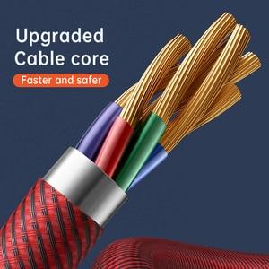 Image 5 - Mcdodo 100W PD kabel USB typ C do type c 5A do Samsung S10 S9 Huawei przełącznik Macbook Notebook magnetyczny kabel USB do transmisji danych