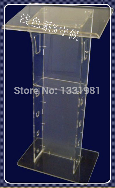 Pulpit FurnitureFree Shipping Modern Design Cheap Transparent Acrylic Lecternacrylic Pulpit