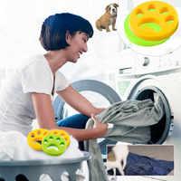 Pet Haar Entferner Waschmaschine Reusable Wäsche Pelz Catcher Reinigung Produkte Zubehör wasmachine haar verwijderaar