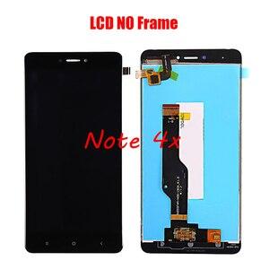 Image 3 - XIAOMI Redmi Note 4X Redmi Note 4 전면 케이스가있는 기존 LCD 스크린 어셈블리 검정색 흰색 수리 도구 및 강화 필름