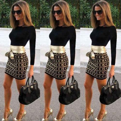 Vrouwen Lange Mouw Bodycon Bandage Mini Jurk Kantoor Dames Mode Vestidos Casual Slim Fit Club Jurk
