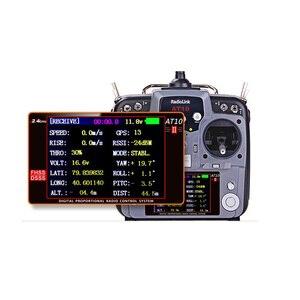 Image 5 - Radioolink at10 ii 2.4 ghz 10ch rc transmissor com receptor r12ds PRM 01 módulo de retorno de tensão com alça de pescoço para o presente