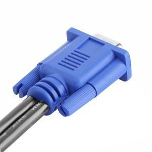 Image 4 - Vga Splitter Kabel 1 Computer Naar Dual 2 Monitor Adapter Y Splitter Man vrouw Vga Wire Cord Voor Pc laptop Vga Splitter Kabel