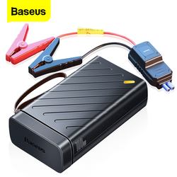 Baseus 1600A Car Jump Starter Booster 12V Auto Starting Device 16000mAh Portable Power Bank 220V AC Output Outdoor Power Supply