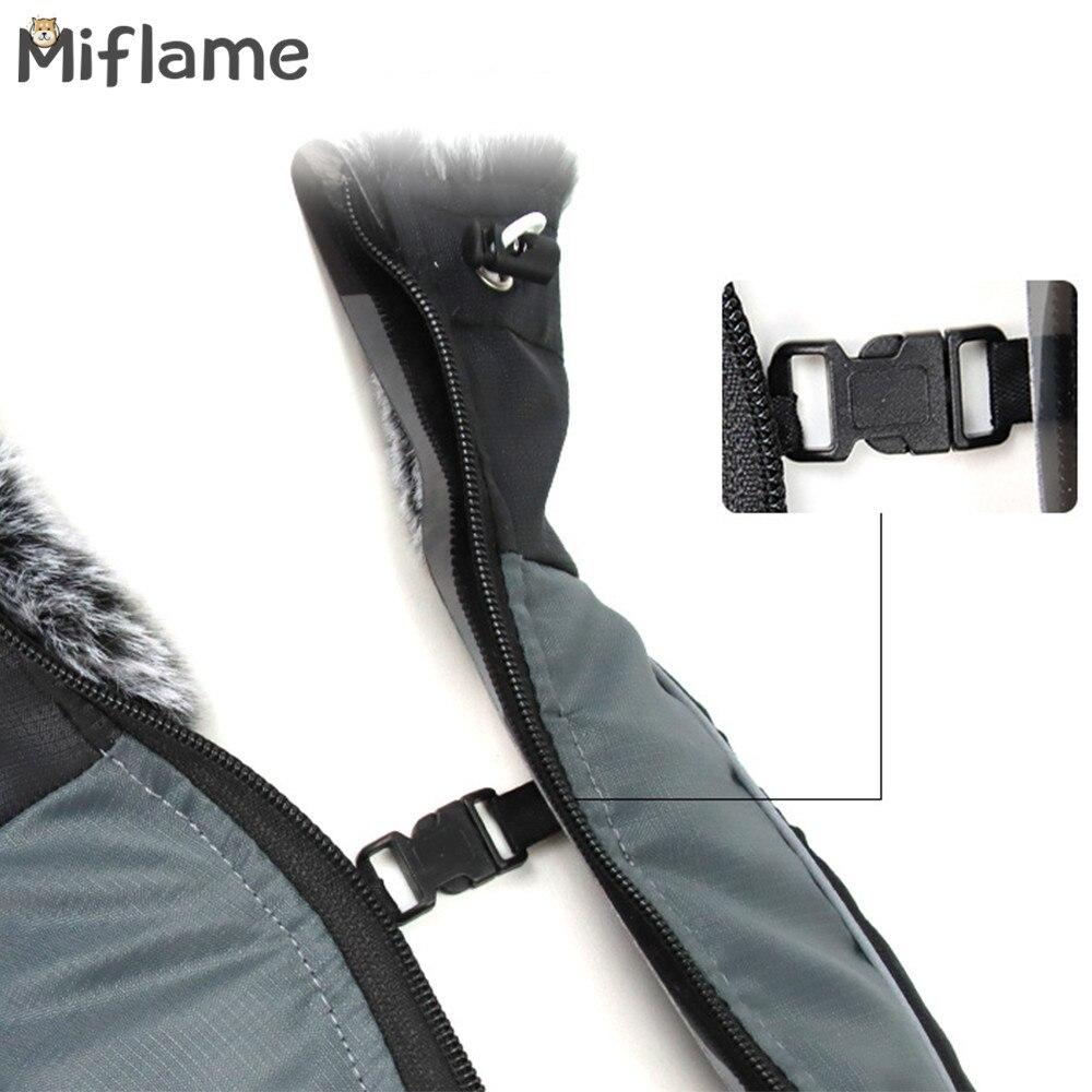 Miflame водонепроницаемая куртка для собак теплая Одежда больших