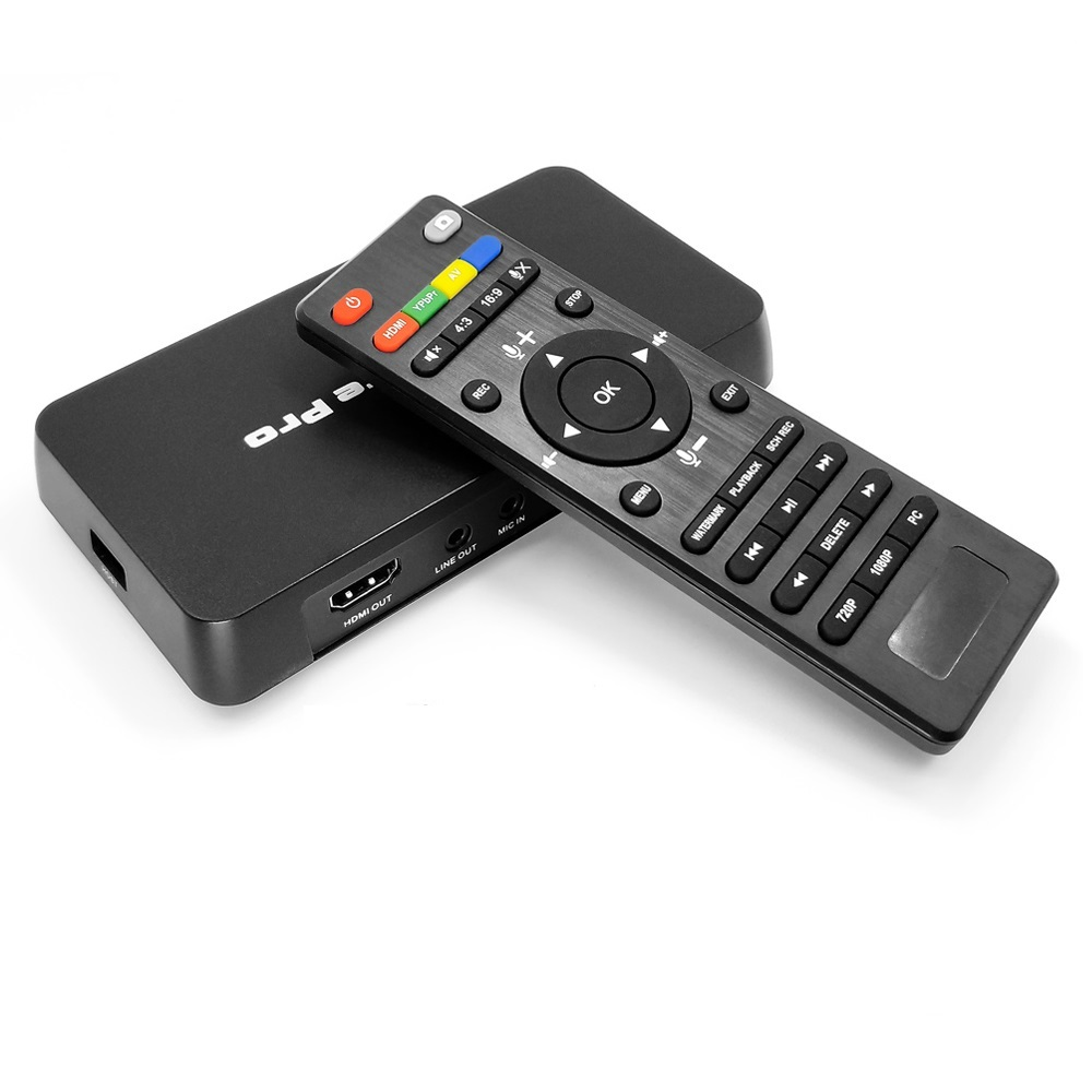 Stand Alone HDMI Video Capture Pro Game TV Capture With Playback Schedule Recording Function Support 4K 30fps, H.264 HDCP Code