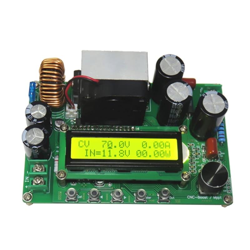 dpx800s dc dc nc cv cc impulsionador modulo cnc impulso 12v 120v 0 15a mppt 667b