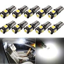 10x W5W T10 HA CONDOTTO LA Lampadina Auto Interni Luce Per Mazda 3 6 CX-5 323 5 CX5 2 626 Spoiler MX5 CX 5 GH CX-7 GG CX3 CX7 MPV RX8 CX-3 323