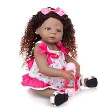 Кукла реборн кейюми 23 дюйма силиконовая полноразмерная кукла