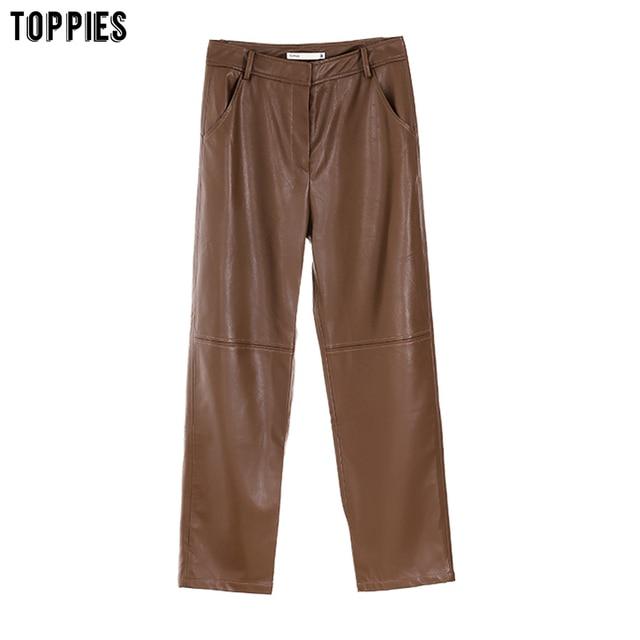 Women's Leather Pants 2