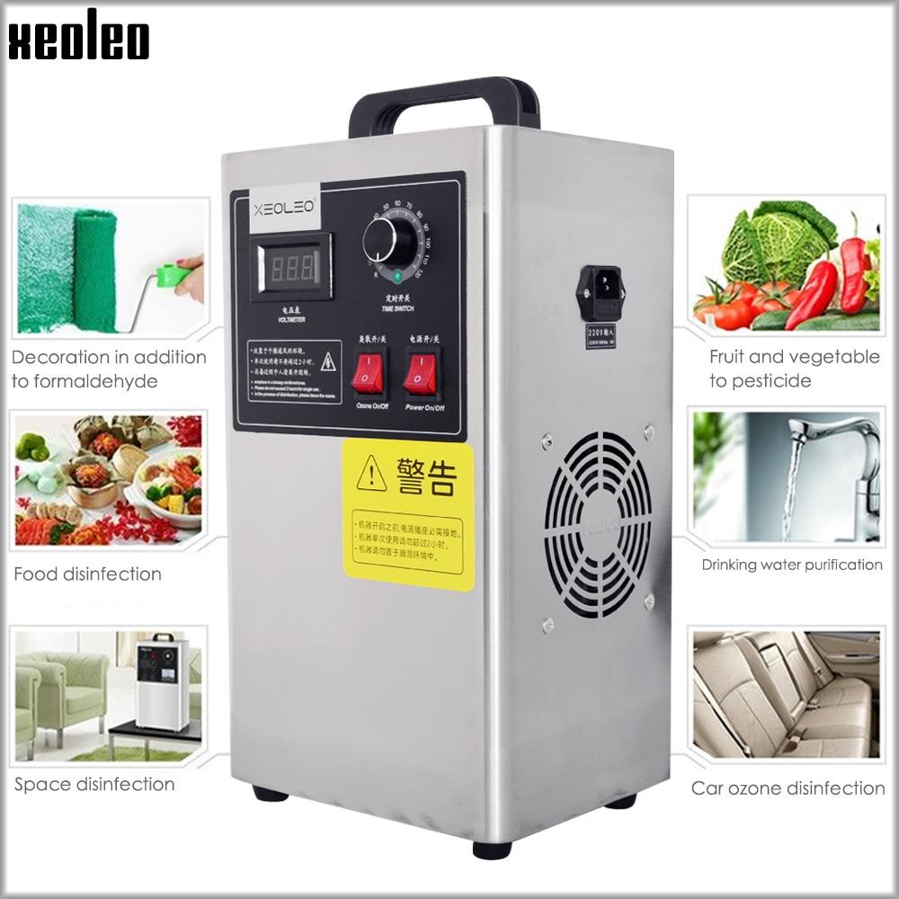 XEOLEO 3 G/H generator ozonu owoce sterylizator usuwanie formaldehydu ozonu dezynfekcji maszyna sterylizacji wody oczyszczacz domu