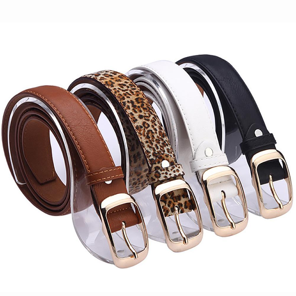 7 Colors Fashion Female Thin Belt Women 2019 High Quality Strap Women Leather Trouser Children's Belts Ladies On Dresses