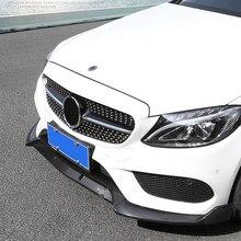 Kit de lame de pare-choc avant, pour Mercedes Benz classe C W205 C205 coupé Sport Version C180 C200 C250 C260 C300 450
