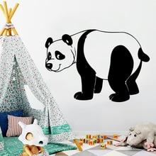 Funny Panda Decal Removable Vinyl Mural Poster Living Room Children Room Sticker Home Decor Wall Decorations Living Room LW401 цены