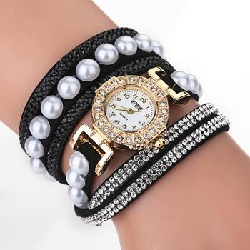 Fashion Women Dress Quartz Wrist Watch Luxury 2020 New Gold Rhinestone Bracelet Crystal Design Clock Ladies Elegant Reloj Mujer yaqin fashion elegant women s rhinestone quartz watch lady casual luxury dress bracelet watches diamond crystal clock