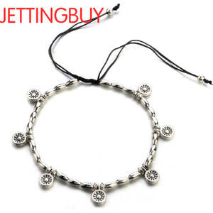 Link-Chain Ankle-Bracelet Sliver-Color Barefoot Jewelry Women Gift for Sexy