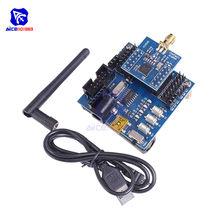 Diymore cc2530 zigbee uart placa de desenvolvimento núcleo sem fio cc2530 sensor node rodapé módulo funcional kit para iot casa inteligente
