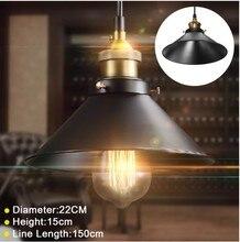 цена на Vintage  Ceiling Light Lamp Round Retro  Industrial Design Iron Vintage Light Deco Bulb Lighting Fixture