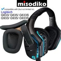 Misodiko Auricolari di Ricambio Cuscini e Della Fascia Kit per Logitech G633 G933 G635 G935 G633S G933S Gaming Headset Cuffie