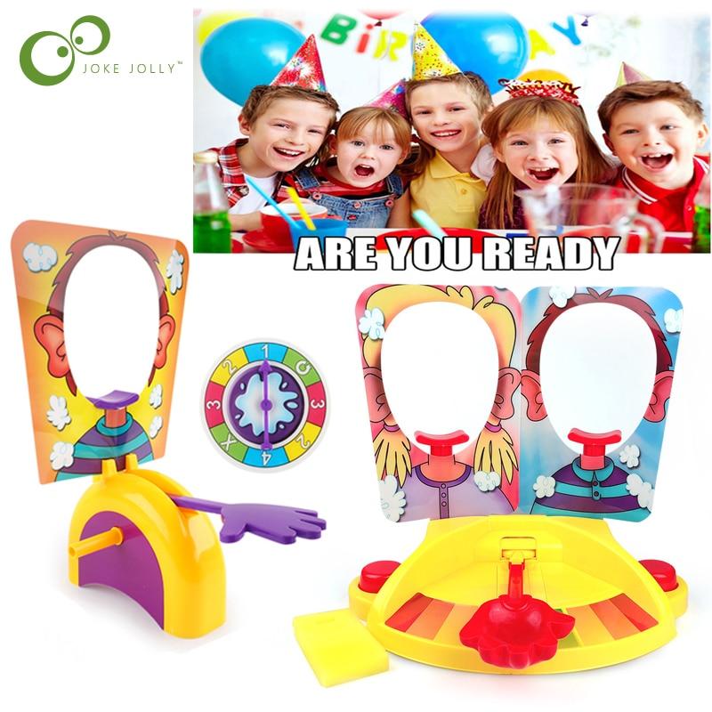 Cake Cream Pie In The Face Family Party Fun Game Funny Gadgets Prank Gags Jokes Anti Stress Toys Kids Joke Machine Toy Gift Zxh Gags Practical Jokes Aliexpress