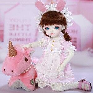 Image 2 - LCC Chloe fullset anzug 1/6 BJD SD Puppe Modell Jungen oder Mädchen Oueneifs yosd napi luts littlefee Spielzeug Mädchen Geburtstag weihnachten