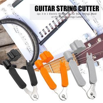Gorąca sprzedaż struna gitarowa Winder 3 w 1 wielofunkcyjna elektryczna struna gitarowa Winder jednokolorowy Pin ściągacz przecinak do strun tanie i dobre opinie CN (pochodzenie) Guitar String Winde Guitar String Winder