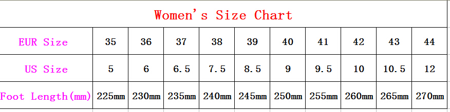 women size .