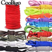 10 metros coloridos dia.3mm único núcleo redondo corda elástica bungee choque cabo stretch string para diy pulseira acessórios de costura