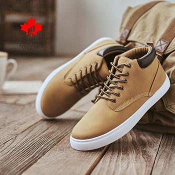 DECARSDZ męskie buty jesienne i zimowe podstawowe buty wygodne płaskie koronki-up męskie buty w stylu Casual męskie modne buty męskie PU skórzane męskie buty tanie i dobre opinie CN (pochodzenie) ANKLE Stałe Dla dorosłych Płótno Okrągły nosek Zima Niska (1 cm-3 cm) DK-B-05 Lace-up Pasuje prawda na wymiar weź swój normalny rozmiar