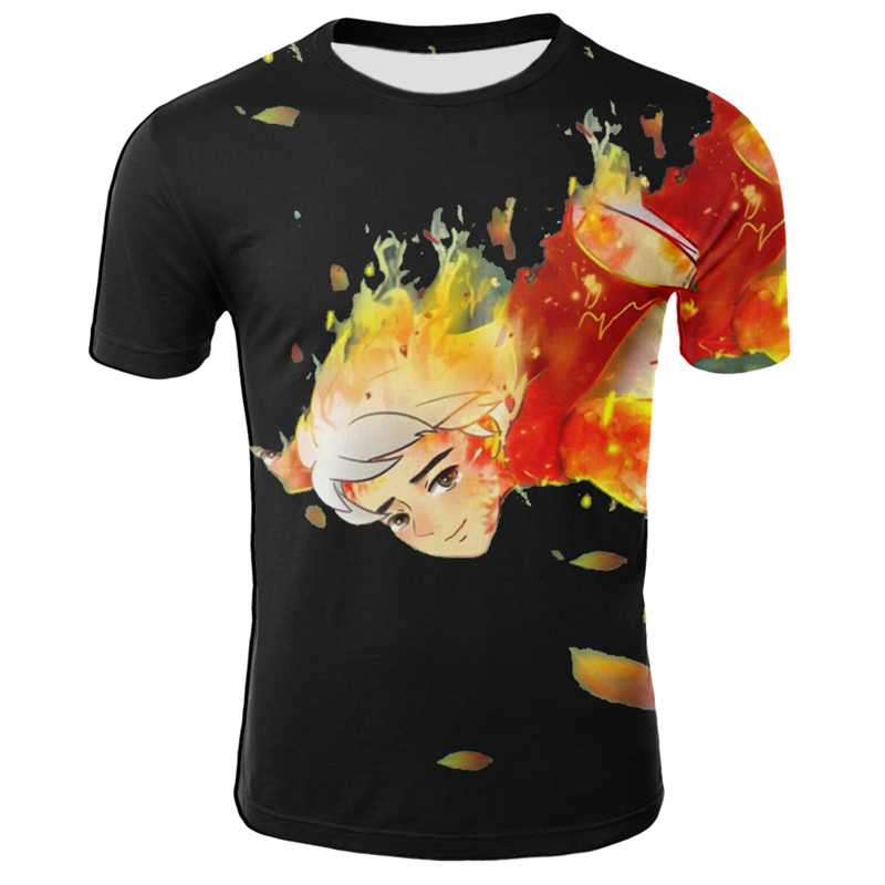 Fashion T-shirt 3D Printed Short Sleeve Men Women Casual Tops Tees Hot Movie Characters Print T Shirts Plus Size