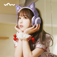 New Japanese Style YOWU Cat ears Two dimensions Wireless bluetooth headset over