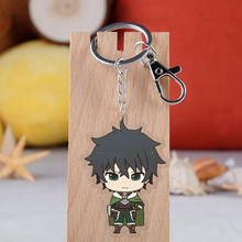 1 sztuk śliczne powstanie tarcza Hero Tate nie Yuusha nie Nariagari Anime Raphtalia Firo breloki akrylowe breloki rysunek zabawki