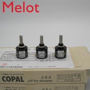 Japan imported Branch Po COPAL M22S10 Precision Multiturn Potentiometer switch 10 Ring 10K 5K 1K  printer accessories