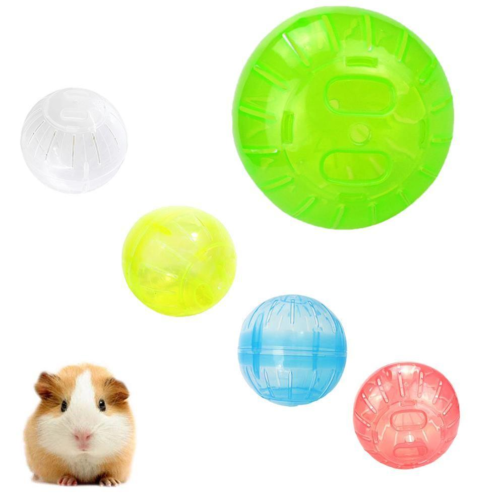 Mini Sports Runner Hamster Exercise Wheel Ball Lovely Small Animal Chinchillas Rat Mice Playground Pet Toys Cage Supplies
