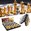 Magnetic International Chess Sets High Quality Fold Board Games with Checkerboard Children Adults Gift Entertainment Table Game