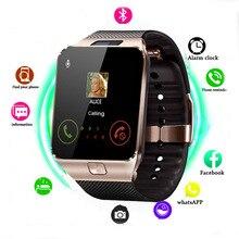 El mejor reloj inteligente Dz09 compatible con cámara Tf Sim, reloj de pulsera deportivo con Bluetooth para teléfono Android sa m u ng